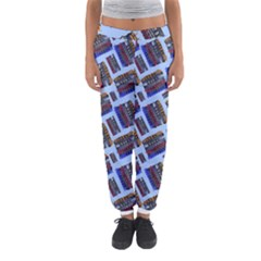 Abstract Pattern Seamless Artwork Women s Jogger Sweatpants