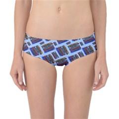 Abstract Pattern Seamless Artwork Classic Bikini Bottoms