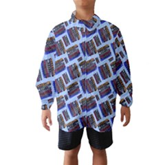 Abstract Pattern Seamless Artwork Wind Breaker (kids)
