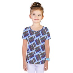 Abstract Pattern Seamless Artwork Kids  One Piece Tee