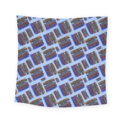 Abstract Pattern Seamless Artwork Square Tapestry (small)