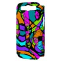 Abstract Art Squiggly Loops Multicolored Samsung Galaxy S III Hardshell Case (PC+Silicone) View3