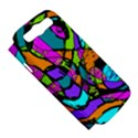Abstract Art Squiggly Loops Multicolored Samsung Galaxy S III Hardshell Case (PC+Silicone) View5
