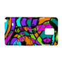 Abstract Art Squiggly Loops Multicolored Samsung Galaxy Note 4 Hardshell Case View1