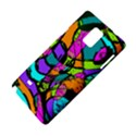 Abstract Art Squiggly Loops Multicolored Samsung Galaxy Note 4 Hardshell Case View4