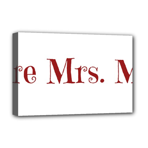 Future Mrs. Moore Deluxe Canvas 18  x 12