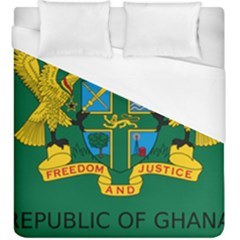 National Seal of Ghana Duvet Cover (King Size)