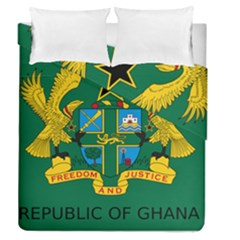 National Seal of Ghana Duvet Cover Double Side (Queen Size)