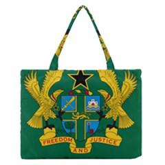 National Seal of Ghana Medium Zipper Tote Bag