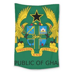 National Seal of Ghana Large Tapestry