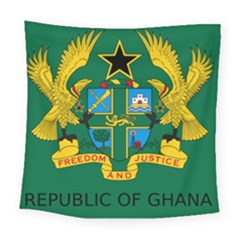 National Seal of Ghana Square Tapestry (Large)