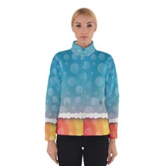 Rainbow Background Border Colorful Winterwear
