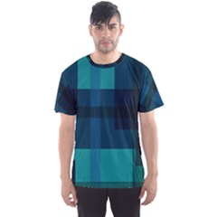 Boxes Abstractly Men s Sport Mesh Tee