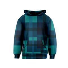 Boxes Abstractly Kids  Pullover Hoodie