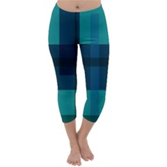 Boxes Abstractly Capri Winter Leggings