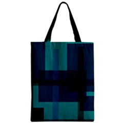 Boxes Abstractly Zipper Classic Tote Bag