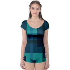 Boxes Abstractly Boyleg Leotard