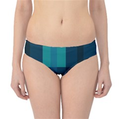 Boxes Abstractly Hipster Bikini Bottoms