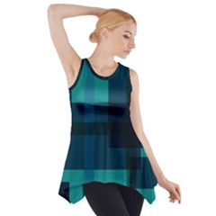 Boxes Abstractly Side Drop Tank Tunic
