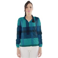 Boxes Abstractly Wind Breaker (women)