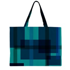 Boxes Abstractly Large Tote Bag