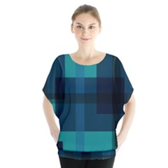Boxes Abstractly Blouse