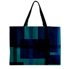 Boxes Abstractly Medium Zipper Tote Bag
