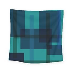 Boxes Abstractly Square Tapestry (small)