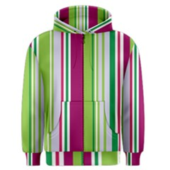 Beautiful Multi Colored Bright Stripes Pattern Wallpaper Background Men s Zipper Hoodie