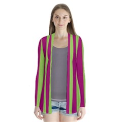 Beautiful Multi Colored Bright Stripes Pattern Wallpaper Background Cardigans