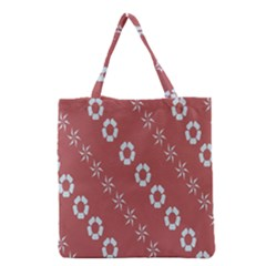 Abstract Pattern Background Wallpaper In Pastel Shapes Grocery Tote Bag