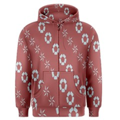 Abstract Pattern Background Wallpaper In Pastel Shapes Men s Zipper Hoodie