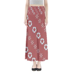 Abstract Pattern Background Wallpaper In Pastel Shapes Maxi Skirts
