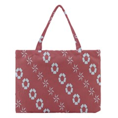 Abstract Pattern Background Wallpaper In Pastel Shapes Medium Tote Bag