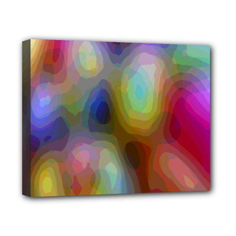 A Mix Of Colors In An Abstract Blend For A Background Canvas 10  X 8