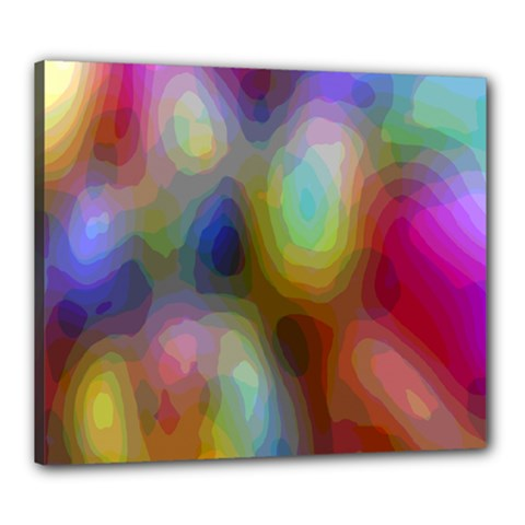 A Mix Of Colors In An Abstract Blend For A Background Canvas 24  X 20