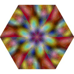 A Mix Of Colors In An Abstract Blend For A Background Mini Folding Umbrellas