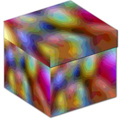 A Mix Of Colors In An Abstract Blend For A Background Storage Stool 12