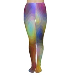 A Mix Of Colors In An Abstract Blend For A Background Women s Tights