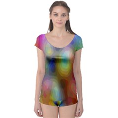 A Mix Of Colors In An Abstract Blend For A Background Boyleg Leotard