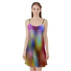 A Mix Of Colors In An Abstract Blend For A Background Satin Night Slip