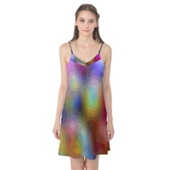 A Mix Of Colors In An Abstract Blend For A Background Camis Nightgown