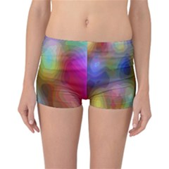 A Mix Of Colors In An Abstract Blend For A Background Reversible Bikini Bottoms
