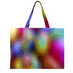 A Mix Of Colors In An Abstract Blend For A Background Large Tote Bag