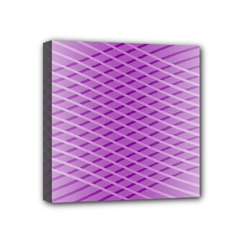 Abstract Lines Background Mini Canvas 4  x 4