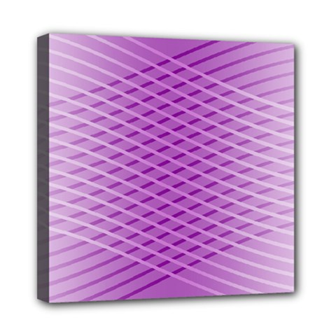 Abstract Lines Background Mini Canvas 8  X 8