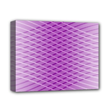 Abstract Lines Background Deluxe Canvas 14  X 11