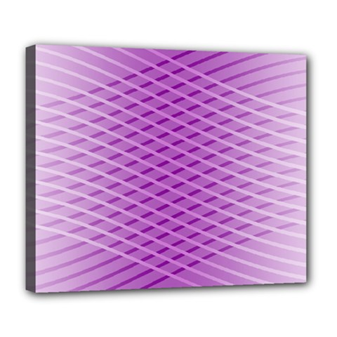 Abstract Lines Background Deluxe Canvas 24  X 20