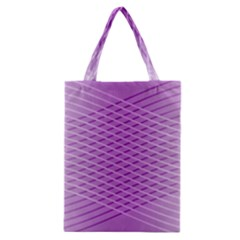 Abstract Lines Background Classic Tote Bag