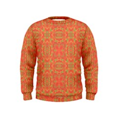 Pattern Kids  Sweatshirt